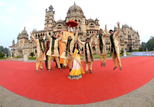 Laxmi vilas palace vadodara wedding dress